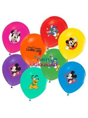 Mickey Mouse Balon Club 20 Adet