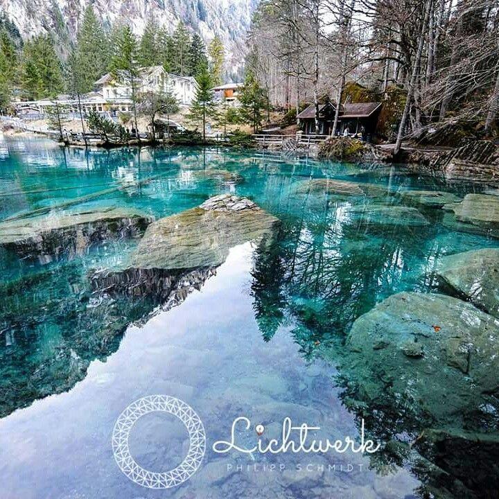 blausee schweiz berge alpen bergsee sehenswa 1 4 rdigkeiten lichtwerk pinterest fischen