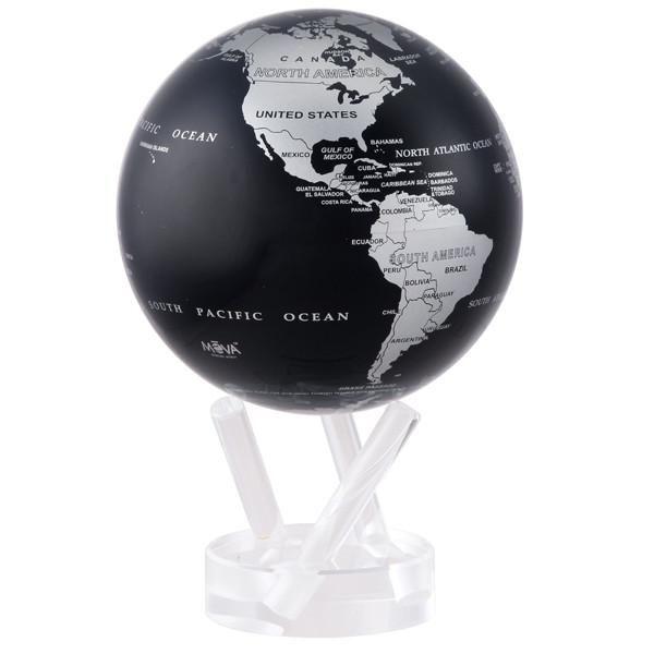 Mova White Cassini Terrestial 4.5 inch Motion Globe.