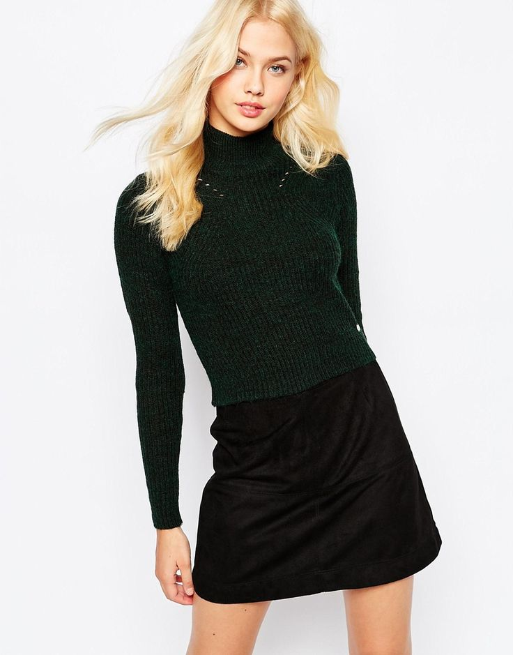 Image 1 ofOnly Cropped Knitted Jumper