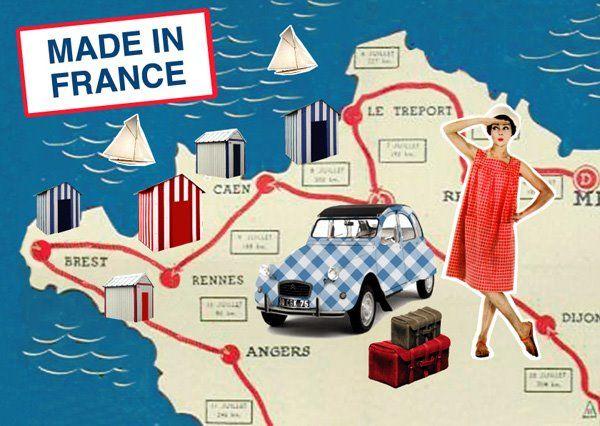 """pierre-feuille-ciseaux: Cartes postales """"Made in France"""" pour Nouvelles images"""