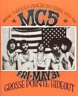 Vintage MC5 poster