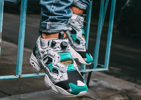 Reebok Insta Pump Fury SP Speckle Flat Grey
