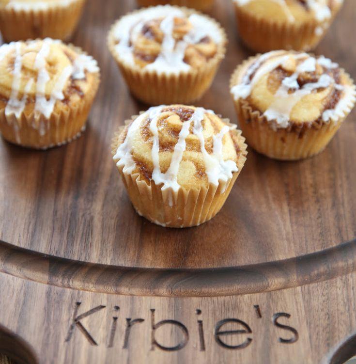 4 Ingredient Cookie Butter Muffins - Kirbie's Cravings
