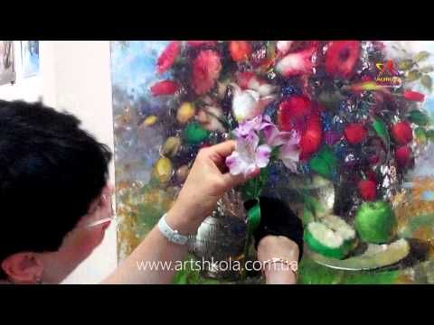 Мастер класс живописи Елены Ильичевой «Весеннее многоцветие»