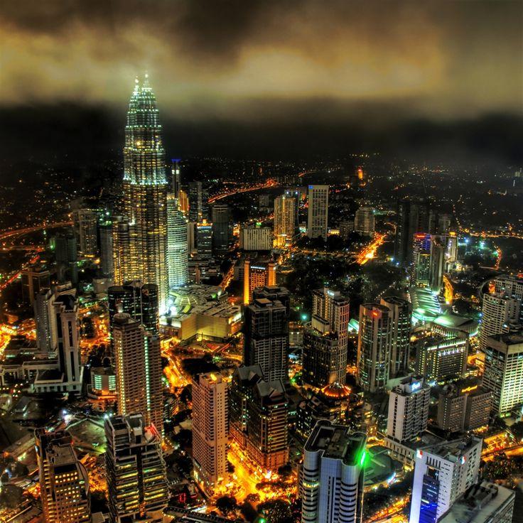 Stuck In Customs Kuala Lumpur Night #retina #iPad #Air #wallpaper