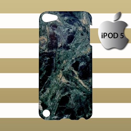 Dark Marble Pattern iPod 5 5g 5th Touch Case Cover Hardshell