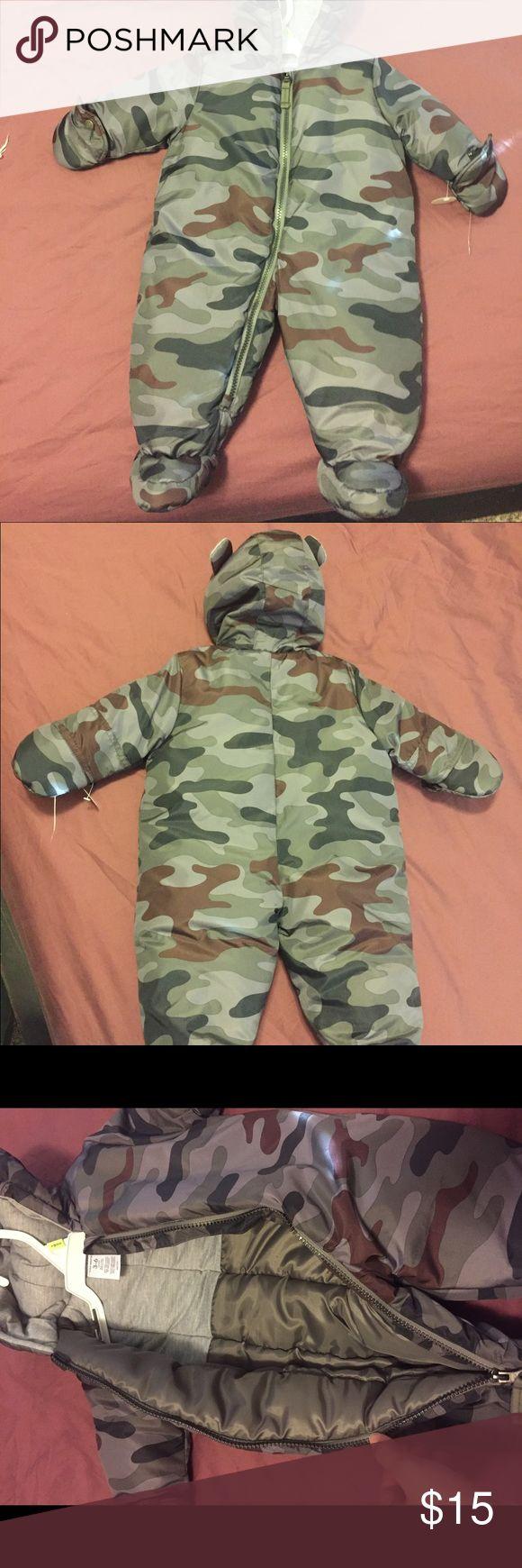 Snow suit Camo snow suit size 3-6 mos Carter's Jackets & Coats