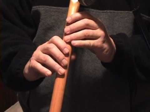 ▶ Amazing Grace 6 Hole flute How to Play Native American Flute Lesson by Keith Davis - YouTube