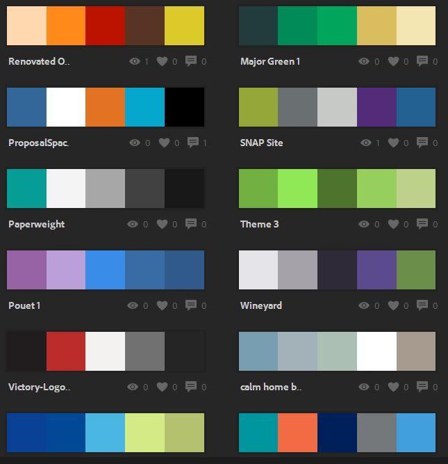 Explore | Color palette generator, Adobe color wheel ...
