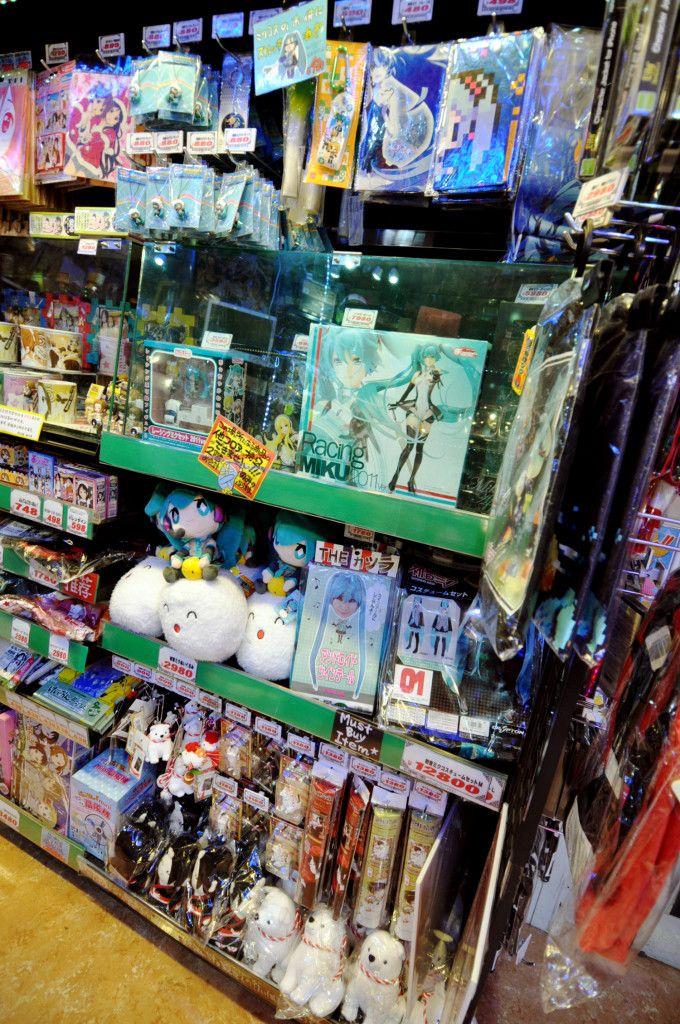 Character Kigurumi, Maid & Cosplay Costumes and Everything Ota cute in Don Quijote (Akihabara, Tokyo)