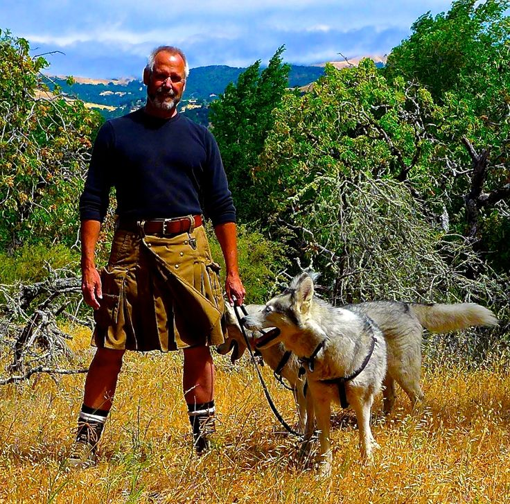 hiking is extremely comfortable in a kilt