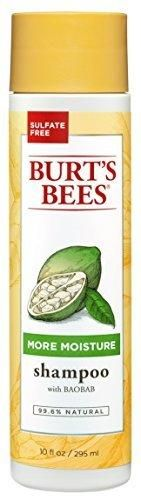 Burt's Bees More Moisture Shampoo Baobab Scent 10 Fluid Ounces (Pack of 3)