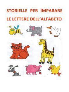 Storielle per imparare le lettere dell'alfabeto, dalla A alla Z