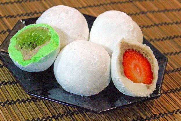 Recette des boules de riz aux fruits (Gwail motji)