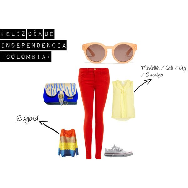 """Colombia independence Day July 20th"" by marrakeshc on Polyvore"