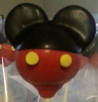 Mickey Mouse Cake Pops by TKCakePops on Etsy