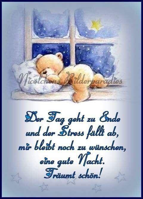 gute nacht wünsche für freunde