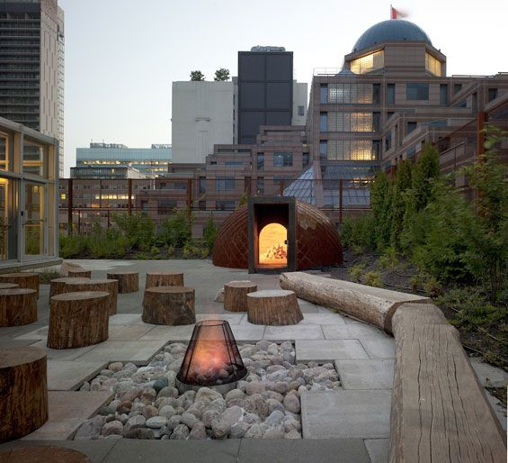 Native Child and Family Services of Toronto Roof Garden | Toronto Canada | Scott Torrance Landscape Architect