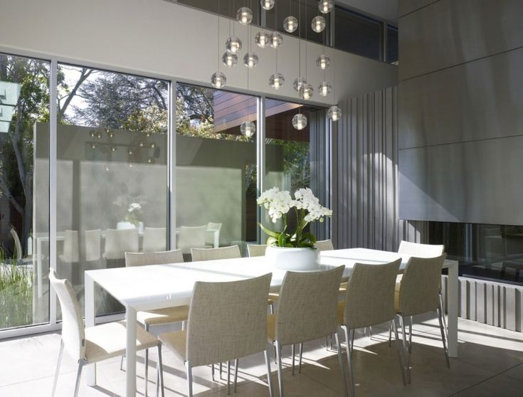 Bocci PendantsMenlo Parks Resident, Dining Room, Fresh Ideas, Dumican Mosey, Design Ideas, Interiors Design, Mosey Architects, Architects 10, Bocci Pendants