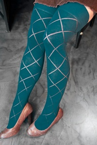 Sock Dreams Diamond Over-the-Knee Socks by Cronert.