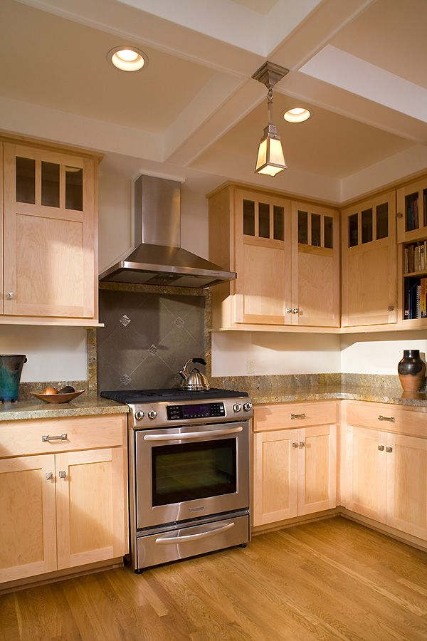 Kitchen Craftsman Houses Colored Cabinets Upper Cabinets Kitchen