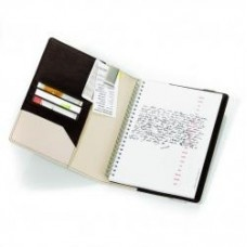 Troika A5 Leather Notebook, Cappuccino $89.95 - Who can resist a good cappuccino?:)
