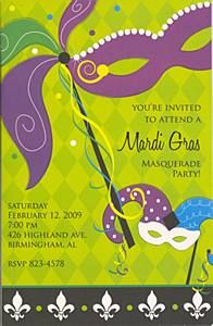 best images about mardi gras party invitations on, invitation samples