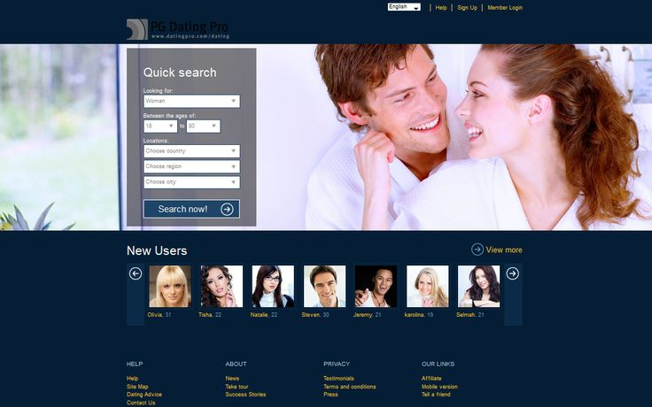 Blue dating site