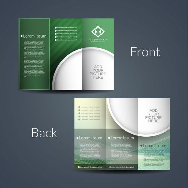 Download Double Sided Brochure For Free Double Sided Flyer Double Sided Brochure Trifold Brochure Template