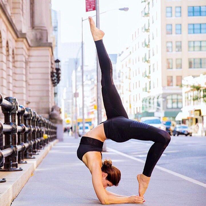 Yoga away in New York via riva_g_