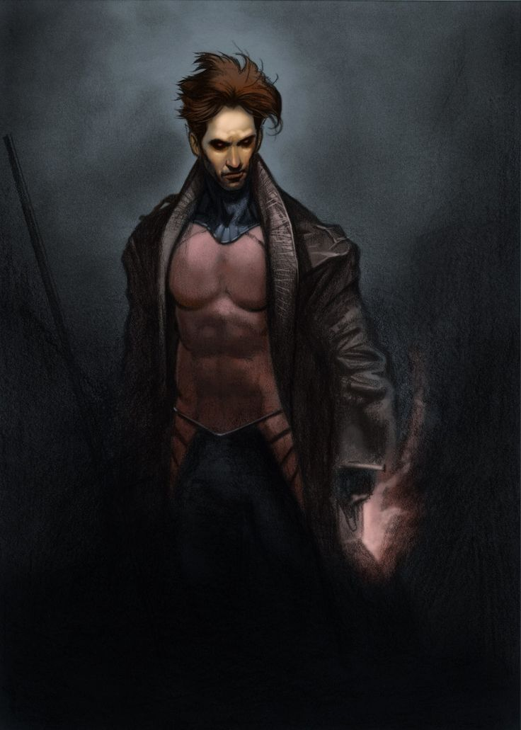 Channing Tatum Gambit Concept Art