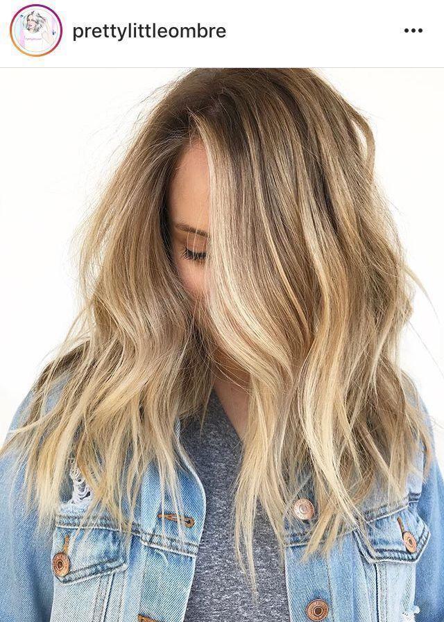 Lose Wellen Lange Haare Lose Wellen Lange Haare Haar Lang