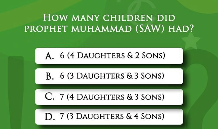Islamic Quiz #husband #wife #marriage #muslim #islam # ...