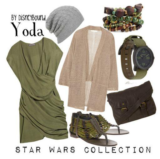 Yoda (Star Wars) not really Disney but eh, it's cute