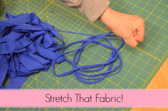 Stretching T-Shirt Yarn