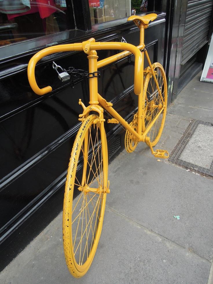 Yellow Bike.