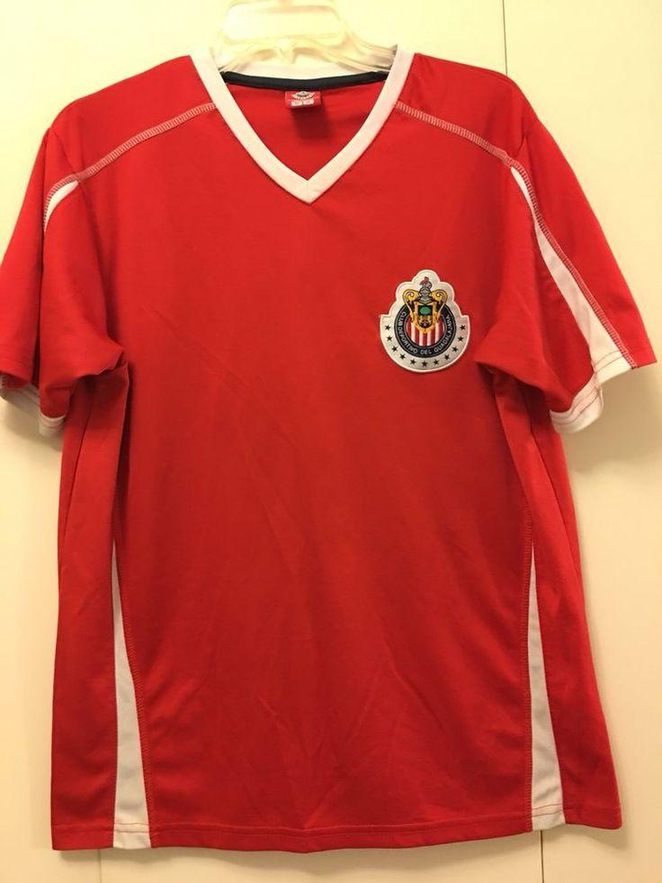 Club Deportivo Guadalajara Chivas Training Jersey Size Medium M #Unbranded #ShirtsTops