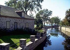 © Paul-Émile Cadorette - Lieu historique national du Canada du Commerce-de-la-Fourrure-à-Lachine
