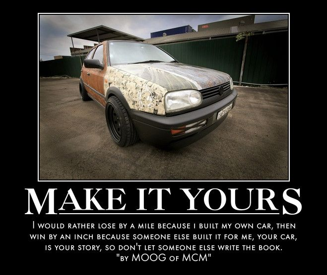 how to build my own car