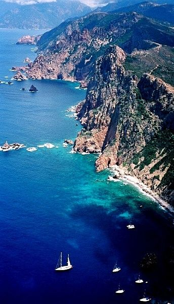 The French island of Corsica