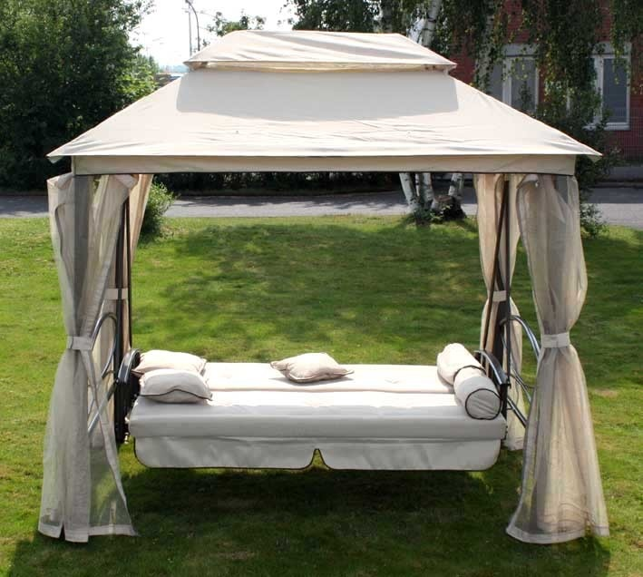 Backyard Gazebo Tent :  Swing Chair (HL6325)China Luxus Garden Gazebo Tent, Garden Swing