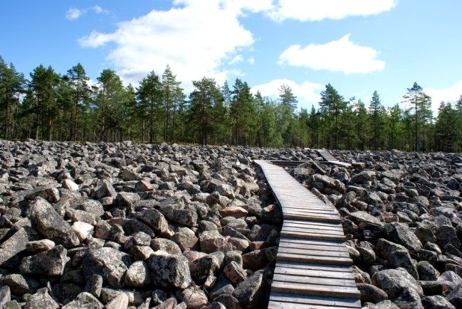Lauhanvuori - Kivijata pitkospuut Finland
