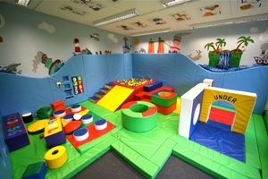 Very creative soft play room
