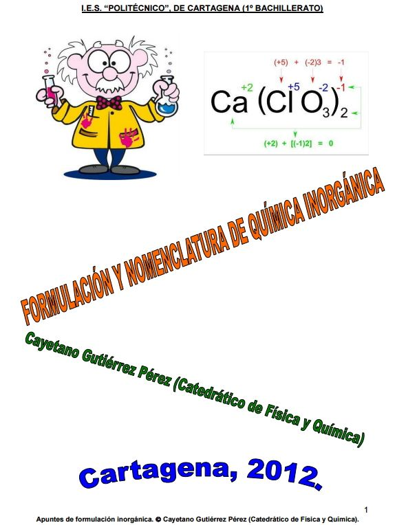 65 best Qumica Inorgnica images on Pinterest  Periodic table