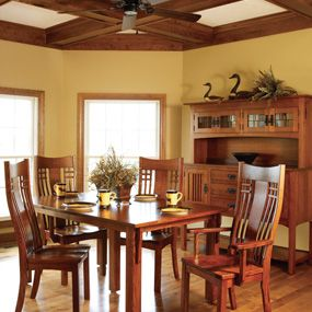 Liberty Mission Dining Collection By Homestead Furniture In Mt. Hope, Ohio.