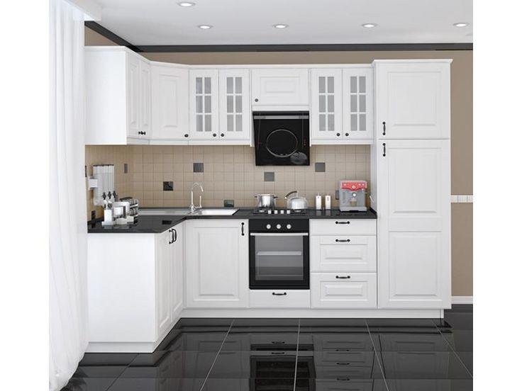 белая кухня из мдф с фрезеровкой - Поиск в Google