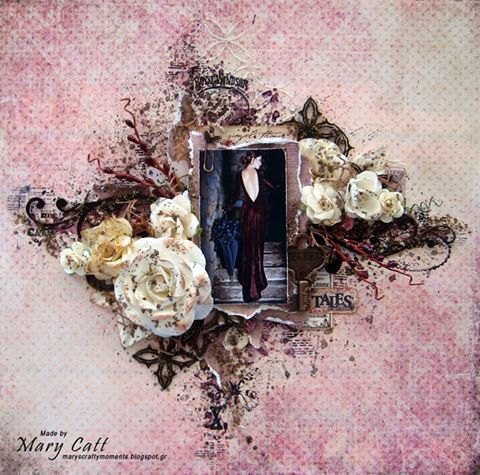 Mary (DT Member) CRAFTY LIFE CHALLENGES 0CTOBER 2016