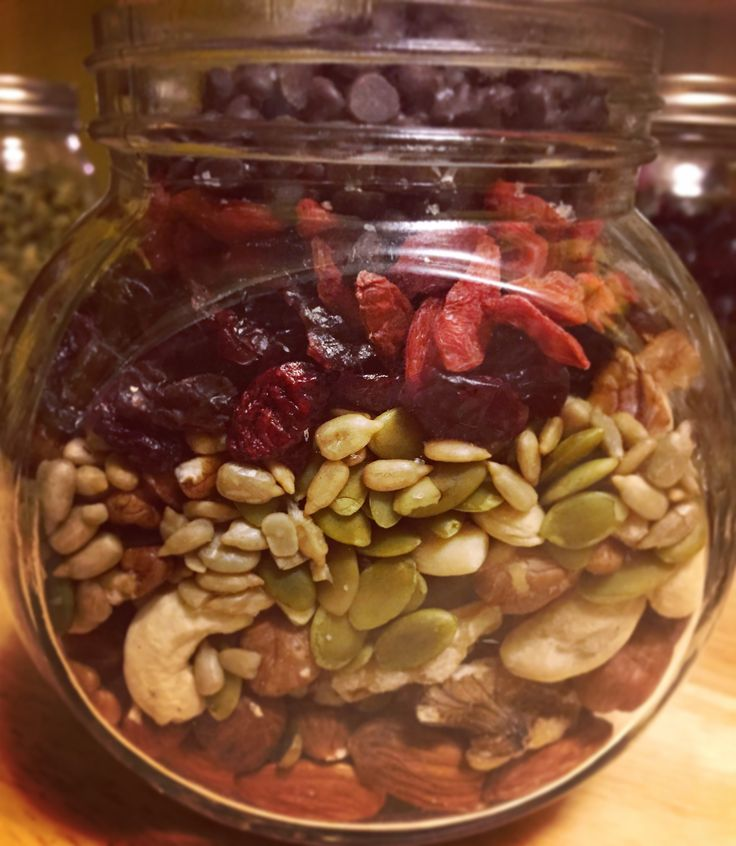This didn't last the week. Make your own trail mix (Vegan, Paleo, Gluten Free) :: The Herbivore Heroine