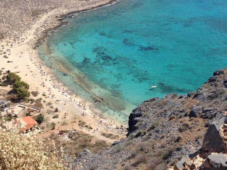 Gramvousa island beach